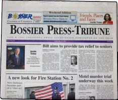 Media Scan for Bossier Press Tribune