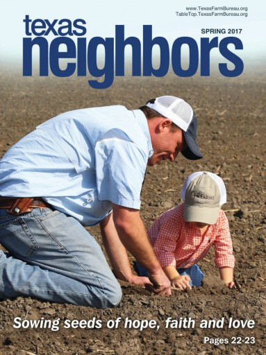 Media Scan for Texas Neighbors Farm Bureau Magazine