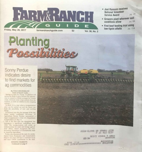 Media Scan for Farm & Ranch Guide