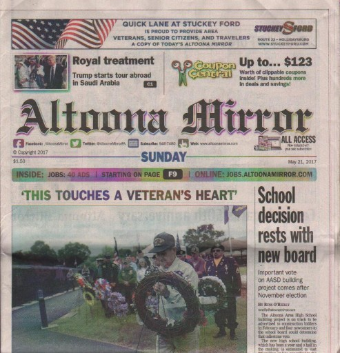 Media Scan for Altoona Mirror