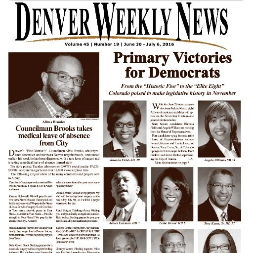 Media Scan for Denver Weekly News