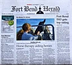 Media Scan for Fort Bend Herald