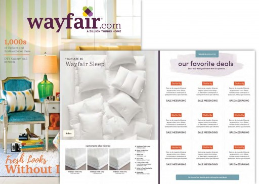 Media Scan for Wayfair Deals Page