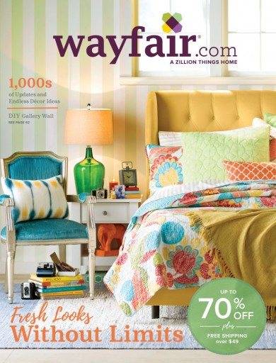 Media Scan for Wayfair Catalog Blow-In
