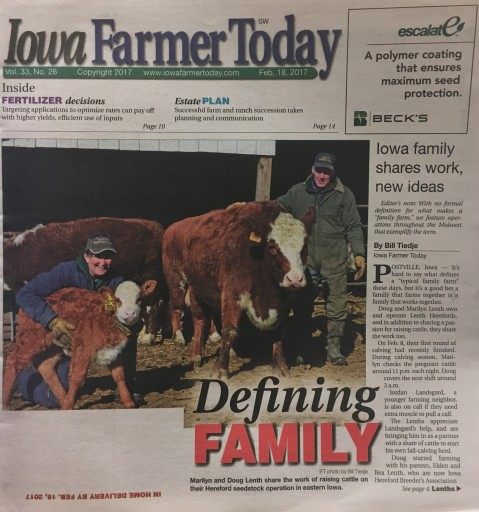 Media Scan for Iowa Farmer Today