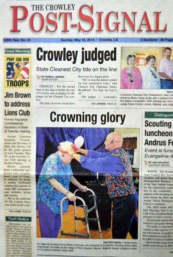 Media Scan for Crowley Post Signal