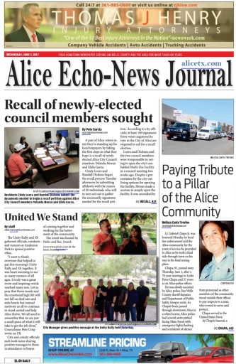 Media Scan for Alice Echo-News Journal