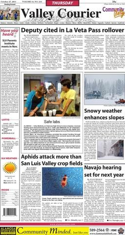 Media Scan for Alamosa Valley Courier