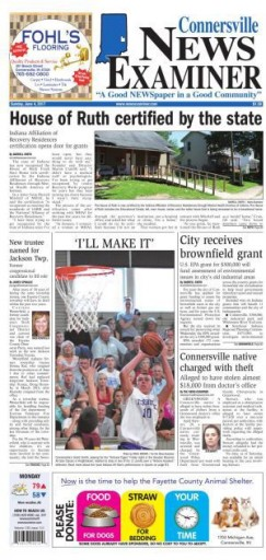 Media Scan for Connersville News-Examiner