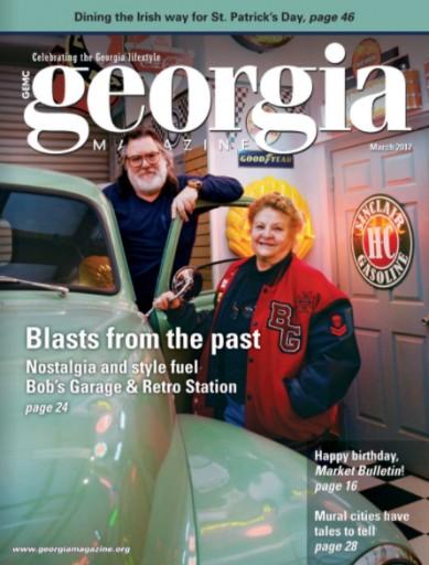Media Scan for Georgia Magazine
