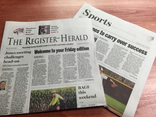 Media Scan for Eaton Register Herald