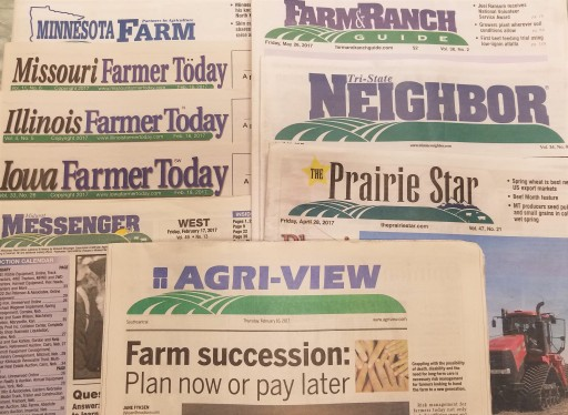 Media Scan for Lee Agri-Media Newspaper Group