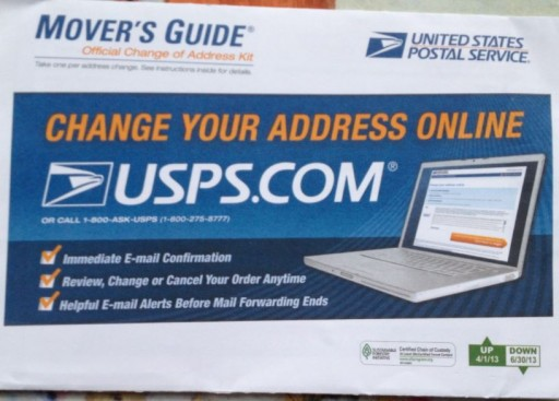Media Scan for USPS Mover's Guide