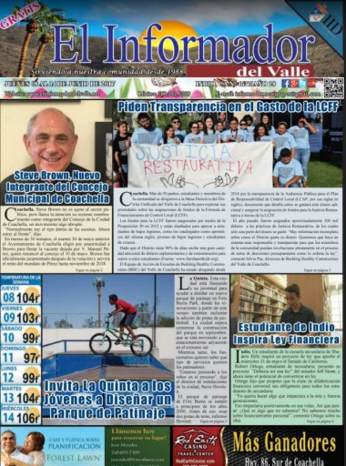 Media Scan for El Informador Del Valle- Palm Springs