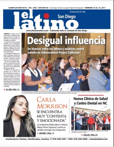 Media Scan for El Latino - San Diego