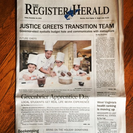 Media Scan for Beckley Register Herald