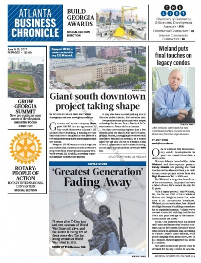 Media Scan for Atlanta Business Chronicle