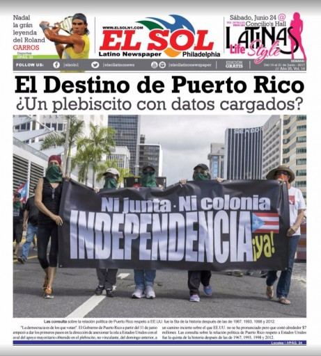 Media Scan for El Sol Latino- Philadelphia