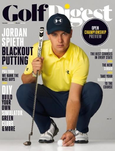 Media Scan for Golf Digest Magazine