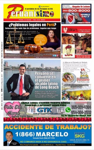 Media Scan for Peruanisimo News - New York