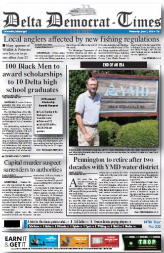 Media Scan for Greenville Delta Democrat Times