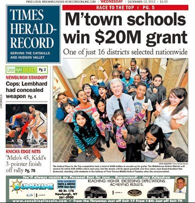 Media Scan for Middletown Regional Newspapers
