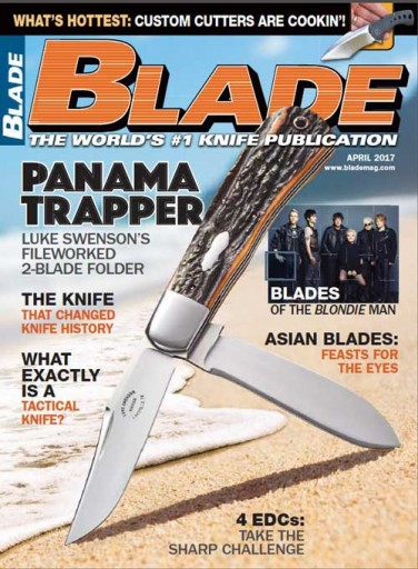 Media Scan for Blade Magazine