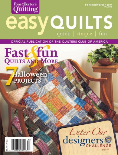 Media Scan for Fons & Porter's Easy Quilts