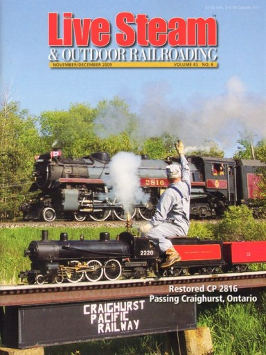 Media Scan for Live Steam & Outdoor Railroading Magazine