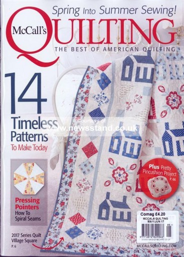 Media Scan for McCall's Quilting