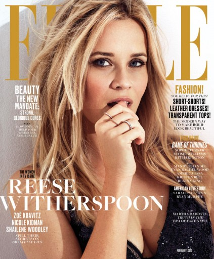 Media Scan for ELLE Magazine
