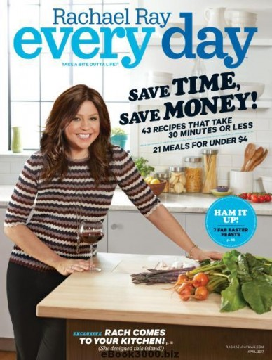 Media Scan for Rachael Ray Every Day Polybag Onserts