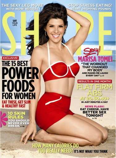 Media Scan for Shape Magazine Polybag Onserts
