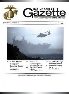 Media Scan for Marine Corps Gazette
