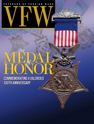 Media Scan for VFW Magazine