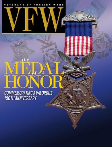Media Scan for VFW Magazine