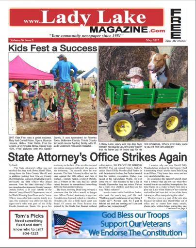 Media Scan for Lady Lake Magazine & The Village Spectator