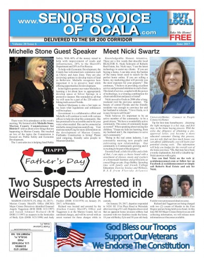 Media Scan for Ocala Seniors Voice & Downtown