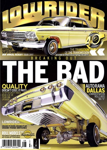 Media Scan for Lowrider Magazine