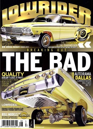 Media Scan for Lowrider Magazine