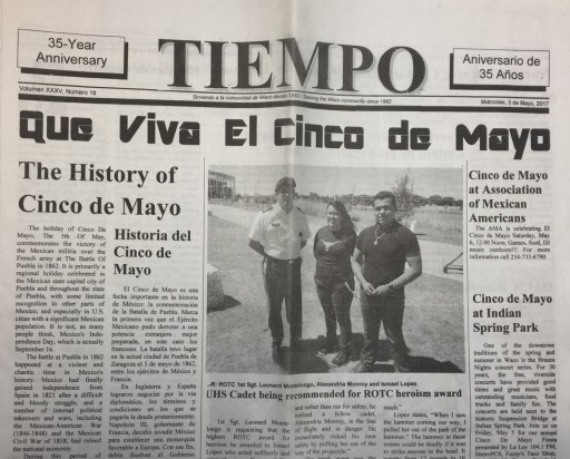 Media Scan for Tiempo - Waco