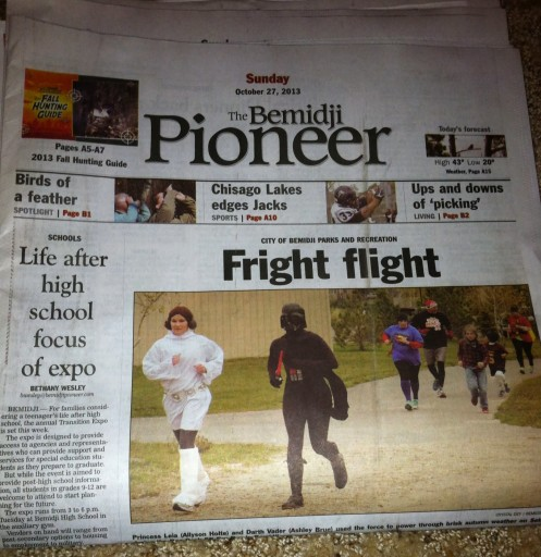 Media Scan for Bemidji Pioneer