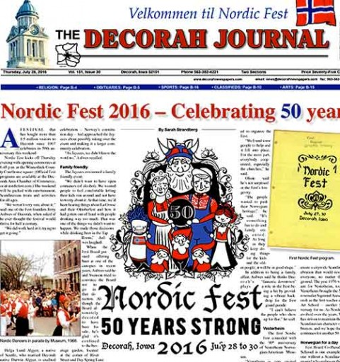 Media Scan for Decorah Journal