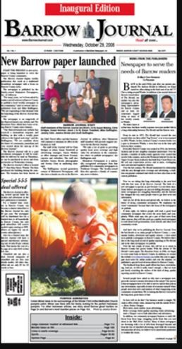 Media Scan for Barrow News - Journal