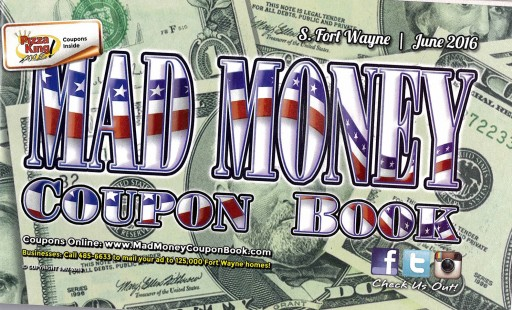 Media Scan for Ft. Wayne Mad Money Coupon Book
