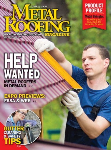Media Scan for Metal Roofing Magazine