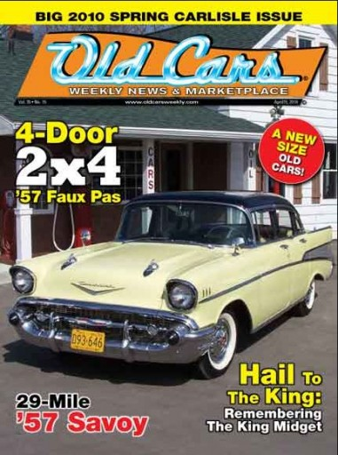Media Scan for Old Cars Weekly