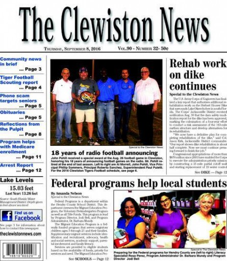Media Scan for Clewiston News