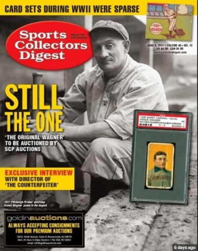 Media Scan for Sports Collectors Digest