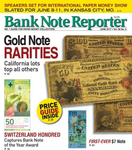 Media Scan for Bank Note Reporter